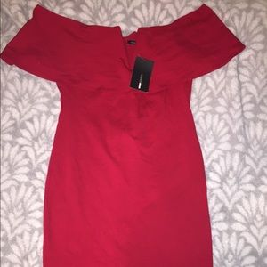 lyla off shoulder dress ! brand new !